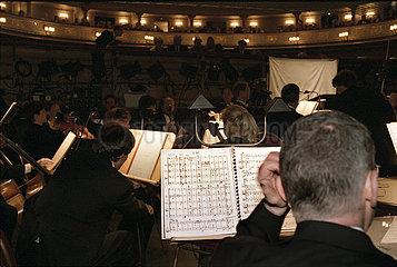 Komische Oper Berlin ORCHESTERGRABEN