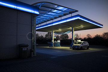 Niedrige Benzinpreise