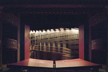 Deutsches Theater Berlin MARIA STUART   Buehnenbild