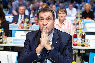 CSU Party Congress in Munich