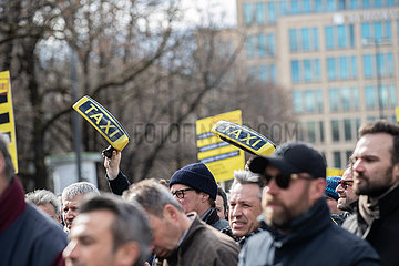 Munich: Taxi Strike