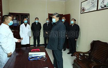 CHINA-SHAANXI-XI jinping-Inspektion (CN)