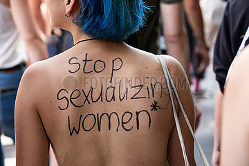 Protest against Sexism in Munich