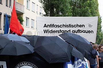 Protest against Neonazi Fraterntity Danubia in Munich
