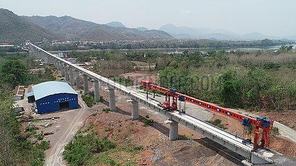 LAOS-CHINA-BAHN-BRIDGE-CONSTRUCTION