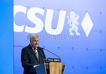 CSU Parteitag in München