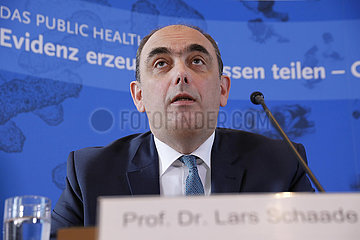 Pressebriefing des Robert-Koch-Instituts  24. April 2020