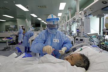 CHINA-HUBEI-WUHAN-Severe-COVID 19 Fälle-ZERO (CN)