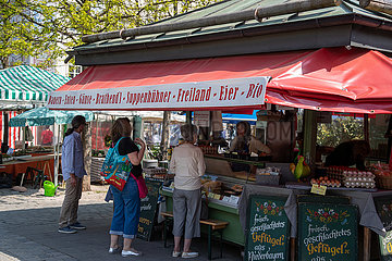 Corona Virus: Leben in der Münchner Innenstadt
