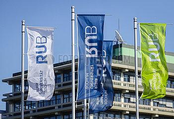 RUB Ruhr-Universitaet Bochum  Ruhrgebiet  Nordrhein-Westfalen  Deutschland