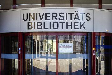 Universitaetsbibliothek RUB Ruhr-Universitaet Bochum  Ruhrgebiet  Nordrhein-Westfalen  Deutschland