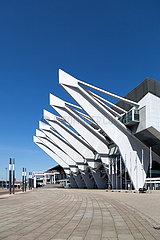 Deutschland  Bremen - Die OeVB-Arena (Stadthalle) ist der groesste Veranstaltungsort der Stadt