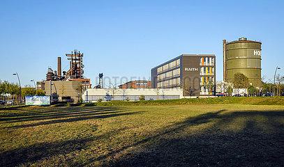 Technologie- und Dienstleistungsstandort PHOENIX West  Konversion des Hochofenwerk Phoenix-West Gelaendes  Dortmund  Ruhrgebiet  Nordrhein-Westfalen  Deutschland