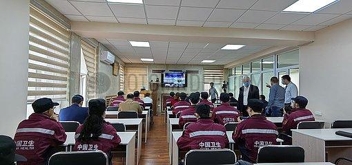 USBEKISTAN-TASHKENT-COVID-19-CHINA-Telemedizin-System