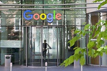 Eingang Google