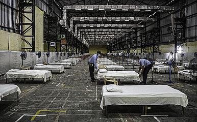 INDIEN-MUMBAI-CORONAVIRUS LOCKDOWN