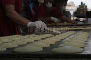 MIDEAST-GAZA-traditionelle Süßigkeiten