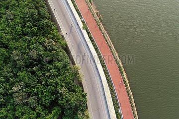 CHINA-SHAANXI-XIANYANG-WEIHE RIVER-ÖKOLOGIE (CN)