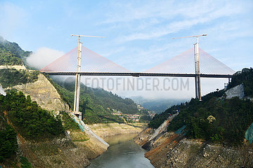 CHINA-GUIZHOU-infrastruktur ROAD BRIDGE-CONSTRUCTION (CN)