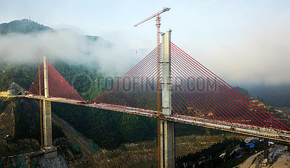 CHINA-GUIZHOU-infrastruktur ROAD BRIDGE-CONSTRUCTION (CN) CHINA-GUIZHOU-infrastruktur ROAD BRIDGE-CONSTRUCTION (CN)
