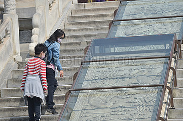 CHINA-BEIJING-COVID-19-TEMPLE OF HEAVEN-TOURISM (CN)
