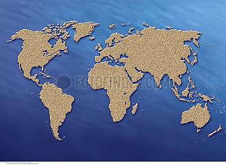 CARTE MONDE!!WORLD MAP