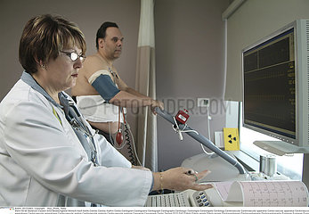EPREUVE EFFORT ECG!!STRESS TEST  ECG