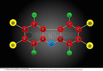 MOLECULE DIOXINE!!DIOXIN  MOLECULE