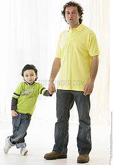 PERE & ENFANT!FATHER & CHILD