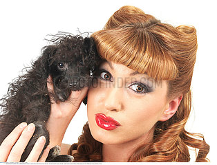 ANIMAL FEMME!WOMAN WITH ANIMAL