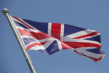 Berlin  Deutschland  Nationalfahne von Grossbritannien