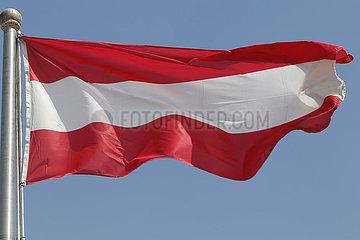 Berlin  Deutschland  Nationalfahne von Oesterreich
