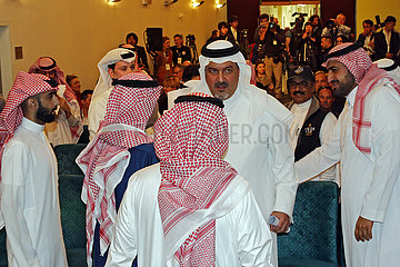Riad  Saudi-Arabien  HRH Prince Bandar bin Khalid al Fasal im Portrait