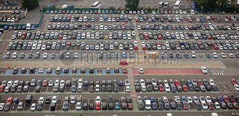 London  Grossbritannien  Parkplatz