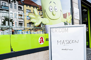 GERMANY-BERLIN-COVID-19-FACE MASK-MANDATORY IN STORES
