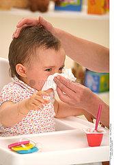 CHILD WITH RHINITIS