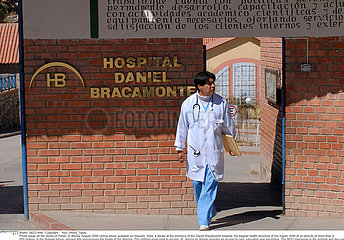 HOSPITAL IN BOLIVIA