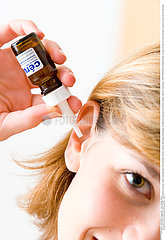 EAR TREATMENT  WOMAN