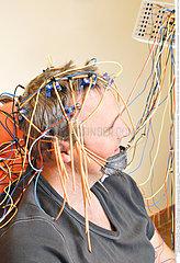 EEG EXAMINATION OF A MAN