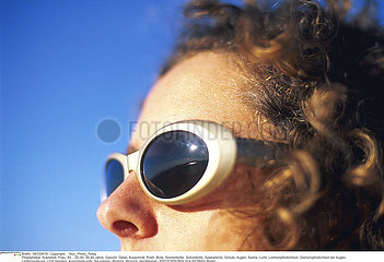 PHOTOPHOBIA IN A WOMAN