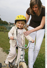 CHILD BIKING