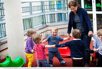 Reportage Kindertagesst?tte /NURSERY