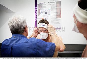 Reportage_171 Kryotherapie / WHOLE BODY CRYOTHERAPY