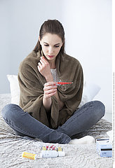WOMAN WITH FEVER