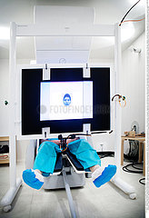 serie Serie Reportage_110 Magnetenzephalographie MAGNETOENCEPHALOGRAPHY