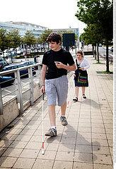 Reportage_170 Sehbehinderung / BLIND PERSON