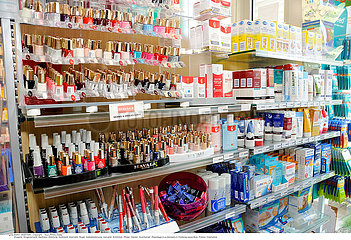INTERIOR OF A CHEMIST'S SHOP