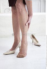 LEG PAIN IN A SENIOR