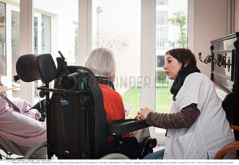 Reportage_264 Pflegeheim /HOME FOR THE AGED