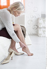 ANKLE PAIN IN A SENIOR